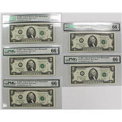 FIVE 2003 $2.00 FR 1937-I