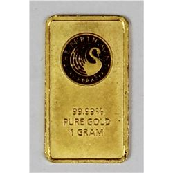 ONE GRAM GOLD BAR