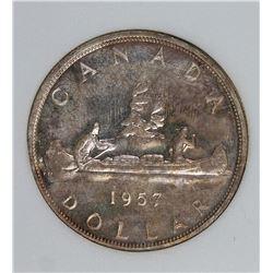 1957 CANADA DOLLAR