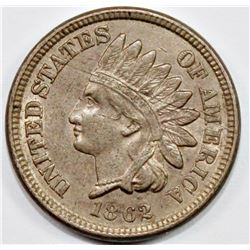 1862 INDIAN CENT