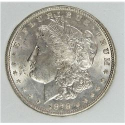 1878 7/8 F MORGAN SILVER DOLLAR