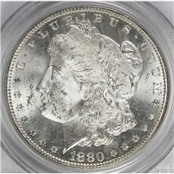 1880-S MORGAN SIVLER DOLLAR