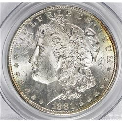 1881-S MORGAN SILVER DOLLAR