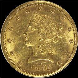 1895-O $10.00 GOLD LIBERTY