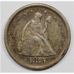 1875-S TWENTY CENT PIECE