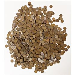 """1000 """"S"""" MINT LINCOLN WHEAT CENTS"""