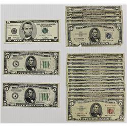 22 PCS. $5.00 NOTES: