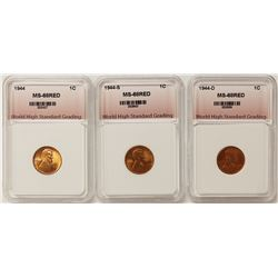LINCOLN CENT LOT SUPERB BU REDS:
