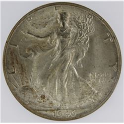 1946-D WALKING LIBERTY HALF DOLLAR