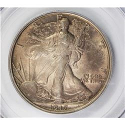 1917 WALKING LIBERTY HALF DOLLAR