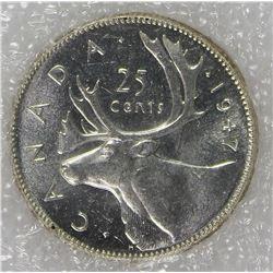 1947 DOT CANADA QUARTER