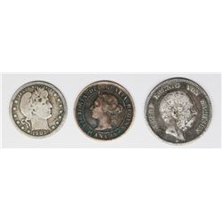 THREE COIN LOT
