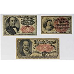 FR 1381, FR 1259, FR 1309 FRACTIONAL CURRENCY