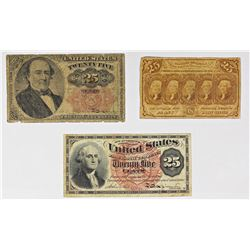 FR 1281, FR 1303, AND FR 1308 FRACTIONAL CURRENCY
