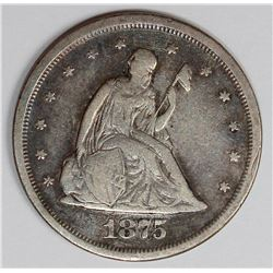 1875-S TWENTY CENT PIECE
