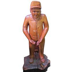 Golfer with Golf Club  (63864)