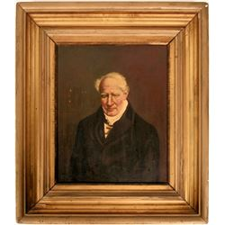 Alexander Humboldt Portrait by Friedrich Heinrich-POSSIBLE MUSEUM PIECE (104925)
