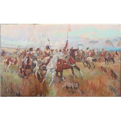 War Party on the Move, Trevors  (114301)
