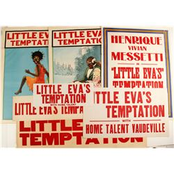 Little Eva's Temptation Lithographs (7 Different)  (78965)