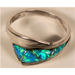 D. Lucia Black Opal Ring  (109104)