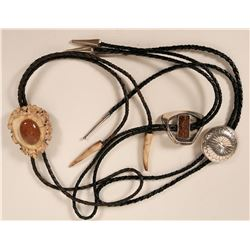 Group of Three Bolo Ties  (109114)
