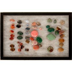 Semi-Precious Cut Stones  (108948)