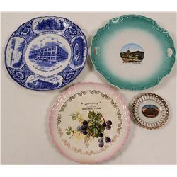 Bay Area Souvenir Plates (4)  (112610)