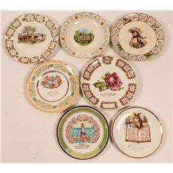 Souvenir Advertising and Calendar Plates Bay Area (7)  (112625)