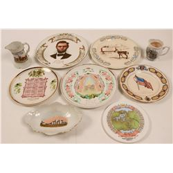 Souvenir Calendar Plate Collection, Illinois (9)  (112690)