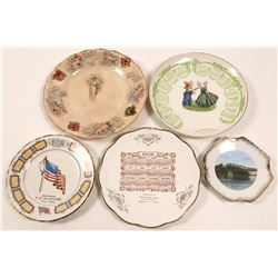 Group of 5 Minnesota Calendar Plates  (112668)
