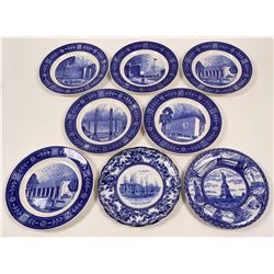 8 New York Collector's Plates  (112678)