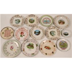 Set of 12 Oregon Calendar Plates  (112676)