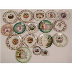 Large Group of Pennsylvania Calendar Plates  (112679)