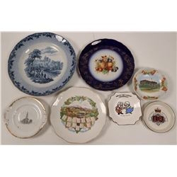Foreign Souvenir and Calendar Plates (7)  (112607)
