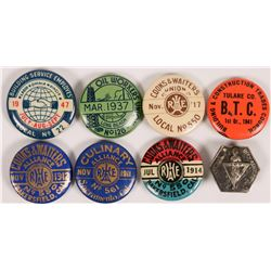 Calif. Labor Pinbacks   (112293)