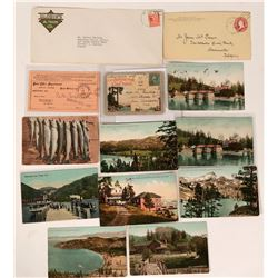 Lake Tahoe Postcard & Postal History Collection  (107886)