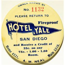 Hotel Yale Advertising Mirror  (110591)