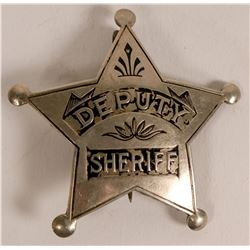 Early Deputy Sheriff badge from Denver, Colorado  (112759)