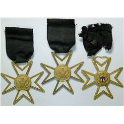 E. Pluribus Unim star and black ribbon  (112383)