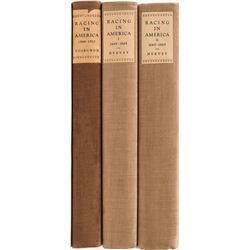 Horseracing History in America: Three Volumes  (110889)