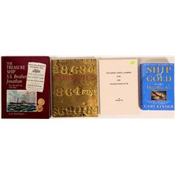 Gold Treasure Books includes SSCA Auction Catalog (4)  (112600)