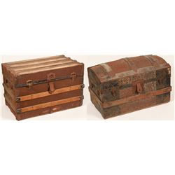 Two Steamer trunks  (110404)