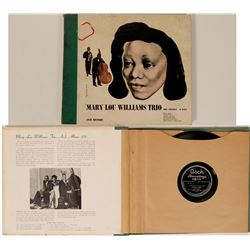 Mary Lou Williams Trio Albums  (110896)