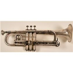 Silver Trumpet by Conn, 1915  (104927)