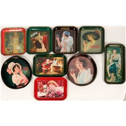 Coca Cola Trays (9) 1 Official  (108220)