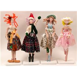 Four dolls collection  (110484)