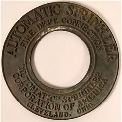 Automatic Sprinkler Corporation of America Cast Iron Fire Dept. Connection Part  (108771)