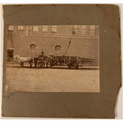 Horse Drawn Fire Wagon  Photograph  (110884)