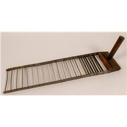 Antique bread slicer  (112364)