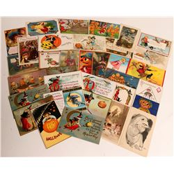 Antique Halloween Post Cards  (112794)